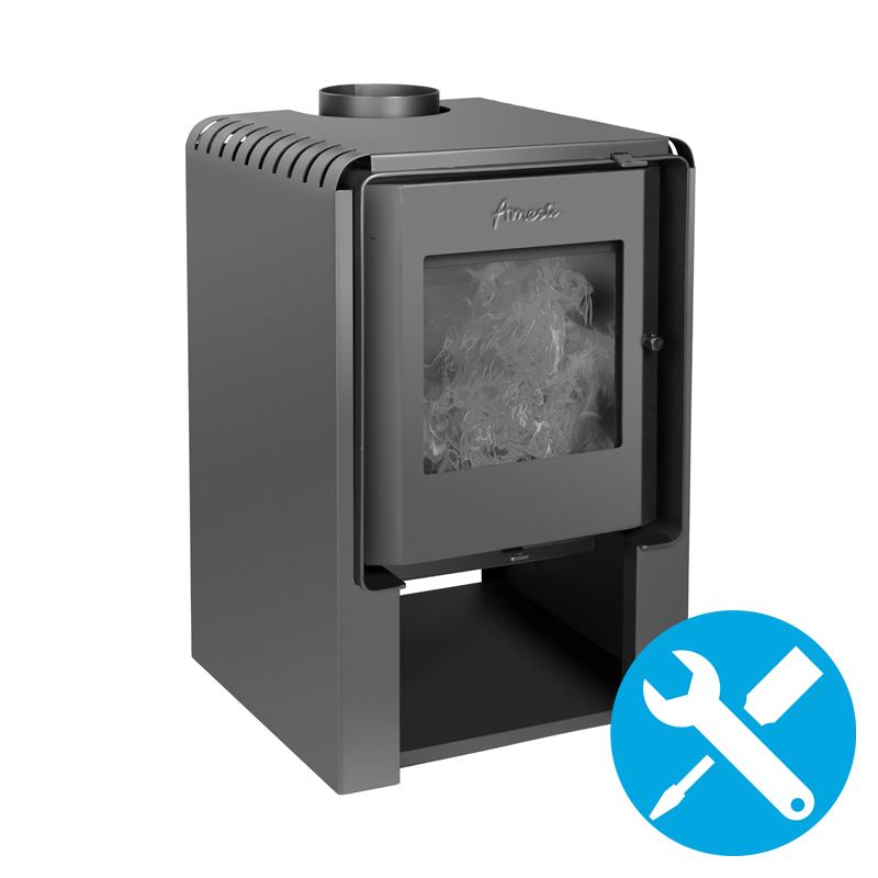 Estufas a leña de carbono neutral - Amesti.cl